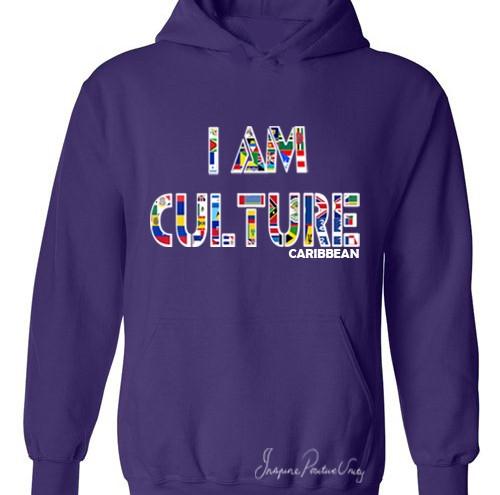 Caribbean purple Hoodie