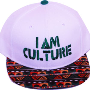 White   Green Snapback [Top View]