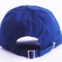 Navy Blue Baseball Cap [Back View]
