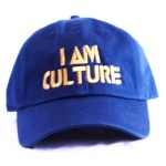 Navy Blue | Gold Baseball Cap [Front View]