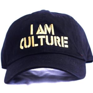 Black | Gold Baseball Cap [Front View]