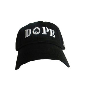 Dope Baseball Cap [Front View]